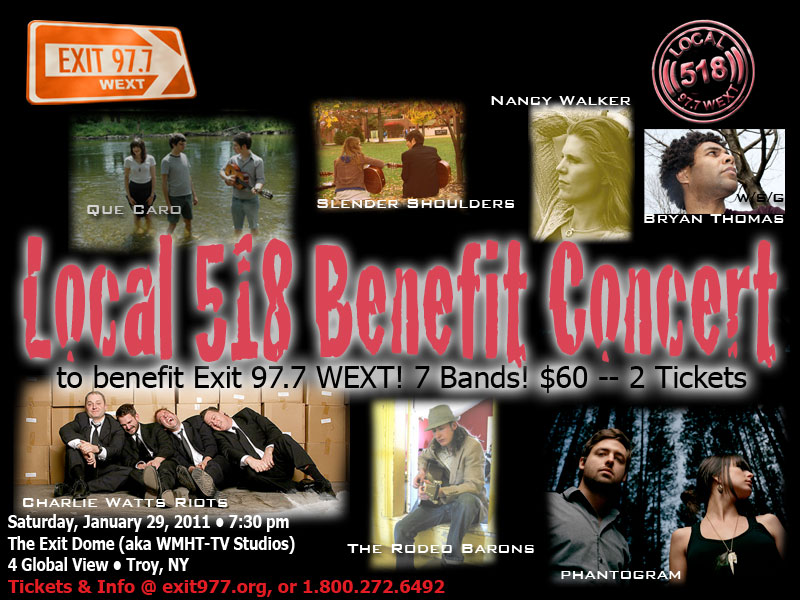 Local 518 Benefit Concert